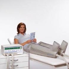 Gradientná prerušovaná kompresia pre cielené ošetrovanie lymfatických edémov