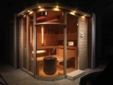 Kombinované sauny - Dva v jednom