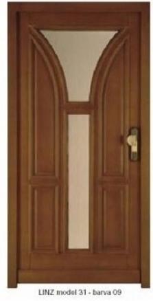 Vchodové dveře Linz