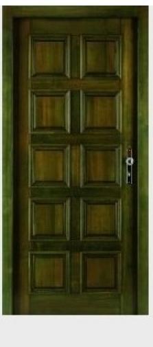 Vchodové dveře Blanice