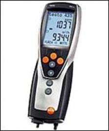 Testo 435  – Prenosný multifunkčný prístroj  pre vetranie, klimatizáciu                      a kvalitu vnútorného prostredia