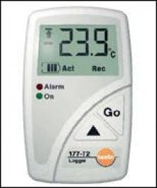 Testo 170  –  Záznamníky teploty a relatívnej vlhkosti vzduchu