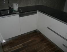 Kuchynská linka Black-white