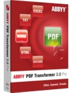Software Abbyy PDF Transformer 3.0
