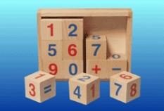 Drevené hračky - Kocky čísla