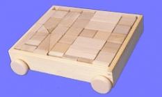 Drevené hračky - stavebnice