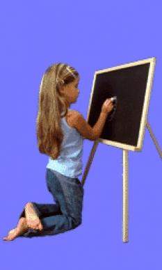 Učebné pomôcky - tabuľa trojnožka