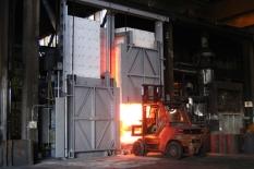 Ohřívací pece pro kovárny a válcovny