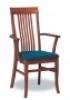 Dřevěná jídelní židle s područkami 3435