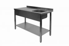 Pracovný stôl s drezom - PPL