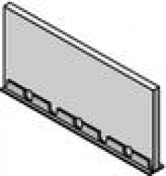 Podlahové vykurovanie, príslušenstvo pre sálavé vykurovanie/chladenie  - spojovací profil 100x10