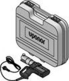 Podlahové vykurovanie, lisovacie nástroje - UP 75 elektrická lisovačka