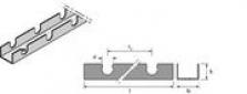 Podlahové vykurovanie, podlahové konštrukcie - fixačná lišta 14
