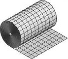 Podlahové vykurovanie, podlahové konštrukcie - fólia s rastrom