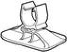 Podlahové vykurovanie, podlahové konštrukcie - príchytka pre uchytenie rúrok