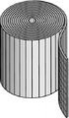 Podlahové vykurovanie, podlahové konštrukcie - izolačný kotúč s textúrovanou fóliou