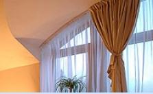 Hotelové okenné a interiérové dekorácie