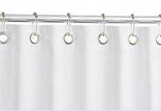 Hotelový textil - Kúpeľňové závesy