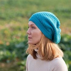 Merino pletený baret