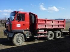 nákladnej dopravy vozidlami TATRA T815