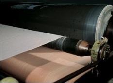 Valce pre papierenský priemysel
