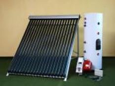 Solární sestavy včetně boileru