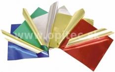 Origami papier metalický 15 x 15 cm, 50 ks