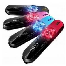 Sony MP3 přehrávač 4GB NWZ-B163 modrý,FM,spona