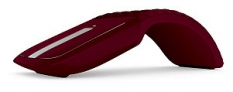 Microsoft Arc Touch Mouse Sangria Red