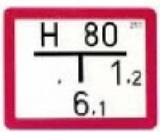 Hydrantové štítky