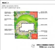 Vypracovanie návrhov záhrad a verejnej zelene