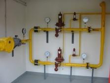 Plyn stredotlak - STL plynovod