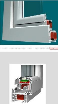 Plastové okná - Aluplast 4000 Rl