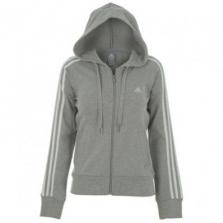 Oblečenie / mikiny s kapucňou / adidas 3S FZ Hood