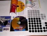 Pěnové samolepící trny pro uchycení CD / DVD