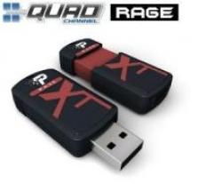 Patriot Xporter XT Rage 8GB USB 2.0 flashdisk (čtení: 27MB/s; zápis 25MB/s)