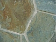 Kamenný obklad - Bridlica B42 10-50cm, 1-2 cm zelenohnedý