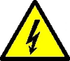 Bezpečnostní značení, tabulky