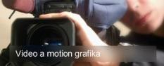 Video a motion grafika