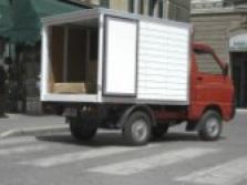 Čtyřkolka Quargo - skříňová nástavba