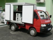 Vozidlo Porter - Izo skříň