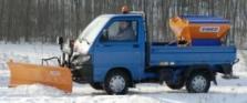 Vozidlo Porter - zimní údržba