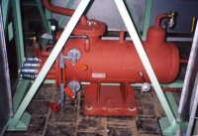 Tlakové nádoby, výměníky, tlakový vzduch, pára