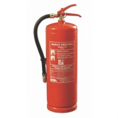 Vodní hasicí přístroje