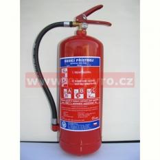 Práškový hasicí přístroj 6kg, typ P6F/ETS