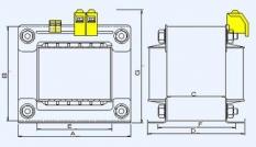Jednofázové transformátory na skladanom jadre T1N