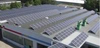 Velké střešní instalace solárních elektráren