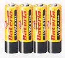 Primárne batérie, zinkochloridové - Ultraprima R06 - fólia