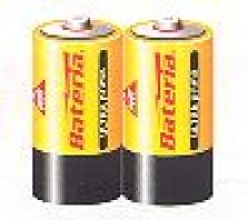 Primárne batérie, zinkochloridové - Ultraprima R14 - fólia