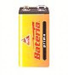 Primárne batérie, zinkochloridové - Prima 6F22 - fólia